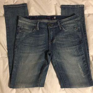 🧸Girls medium wash skinny jeans